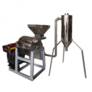 Mesin Hammer Mill With Cyclone Material Stainless Steel
