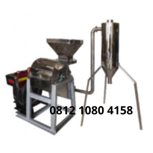 Mesin Penepung Jagung With Cyclone (Hammer Mill With Cyclone) Material Stainless Steel